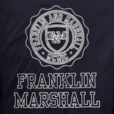 Franklin and Marshall Coach Jacket with Jersey Lining Navy