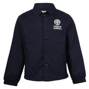 Boy's Franklin & Marshall Coach Jacket With Jersey Lining Navy