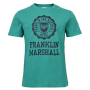 Boy's Franklin & Marshall Logo Tee Bright Green