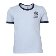 Boy's Franklin & Marshall Retro Logo Tee Ocean Blue