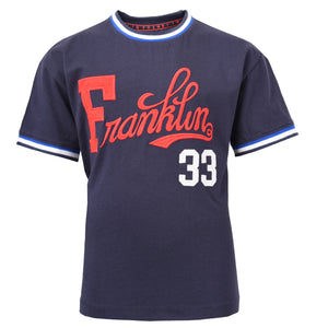 Boy's Franklin & Marshall Retro T-Shirt Navy