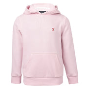 Boy's Farah Powell Over The Head Sweat Orleander Pink Marl