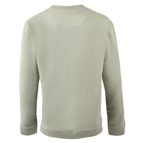 Boy's Farah F/T Logo Crew Neck Sweat Moss Green