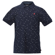 Boy's Farah Aop Polo Navy