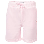 Boy's Farah Sweat Short Orleander Pink Marl