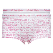 Girl's Calvin Klein 2 Pack Knickers White
