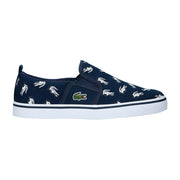 Boy's Lacoste Gazon Navy Trainers
