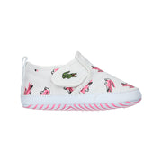 Babies' Gazon Crib Canvas Slip-on White Trainers