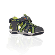 Geox - Lycra Navy & Dark Grey Baby Boys Sandals - WHIZZKID.COM
