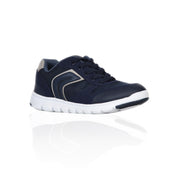 Boy's Geox Navy Trainer