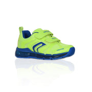 Boy's Geox Flourescent Yellow Junior Velco Trainer