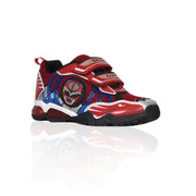 Geox - Royal Red Light Up Junior Boys Velco Sneaker - WHIZZKID.COM