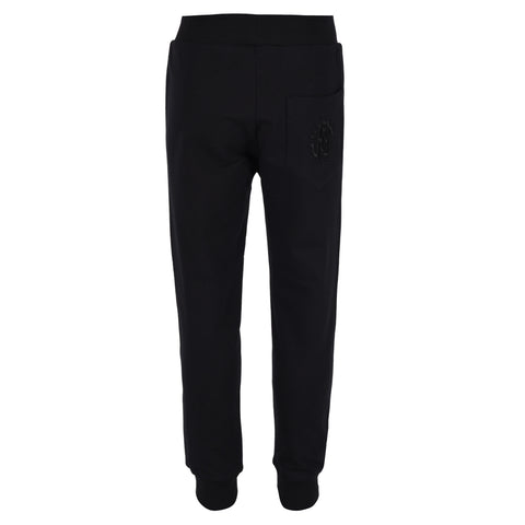 Boy's Roberto Cavalli Solid colour Fleece Pants
