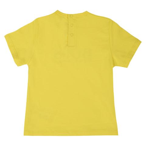 Boy's Hugo Boss Short Sleeve Yellow T-Shirt