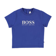 Boy's Hugo Boss Short Sleeve Electric Blue T-Shirt
