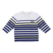 Boy's Hugo Boss Long Sleeve Blue T-Shirt