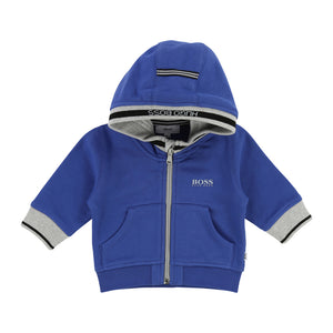 Boy's Hugo Boss Blue Cardigan