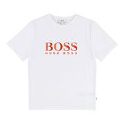 Boy's Hugo Boss Bright Red Short Sleeves T-Shirt