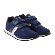 Boy's Hugo Boss Blue Trainers
