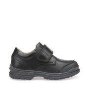 Boy's Geox William Black Shoes