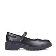 Girl's Geox Casey Black Shoes