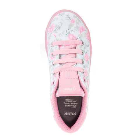 Girl's Geox Print Trainers