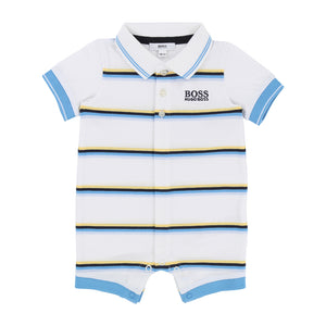 Boy's Hugo Boss Blue/Yellow All In One