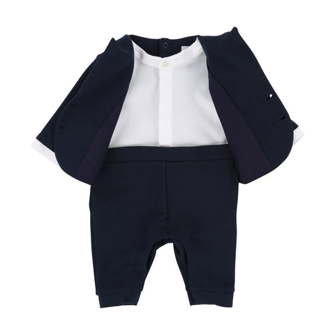 Boy's Hugo Boss Navy All In One