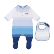 Boy's Hugo Boss Blue and White Set