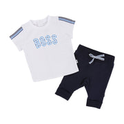 Boy's Hugo Boss Navy and White Set