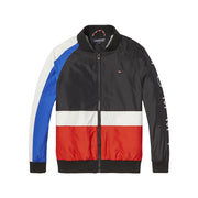 Boy's Tommy Hilfiger Colour Block Black/Red/Blue Jacket