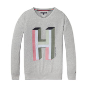 Girl's Tommy Hilfiger Grey Heavyweight Knit