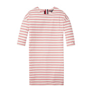Girl's Tommy Hilfiger Stripe Pink and White Dress