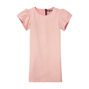 Girl's Tommy Hilfiger Fine Stripe Pink/White Dress