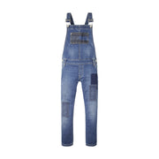 Girl's Tommy Hilfiger Straight Ankle Denim Dungarees