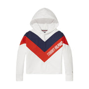 Girl's Tommy Hilfiger Alert Colour Block Hoodie