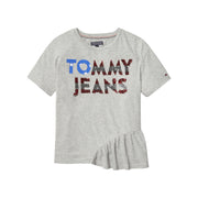 Girl's Tommy Hilfiger Enthusiatic Tee Short Sleeve