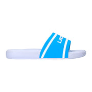 Boy's Lacoste L.30 Blue Sliders