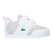 Boy's Lacoste L.Ight White Trainers