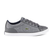 Boy's Lacoste Dark Grey Trainers (Sizes 2 - 5.5)