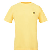Boy's Lyle & Scott Classic T-Shirt Pollen Yellow Marl