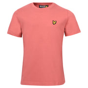 Boy's Lyle & Scott Classic T-Shirt Sunset Pink