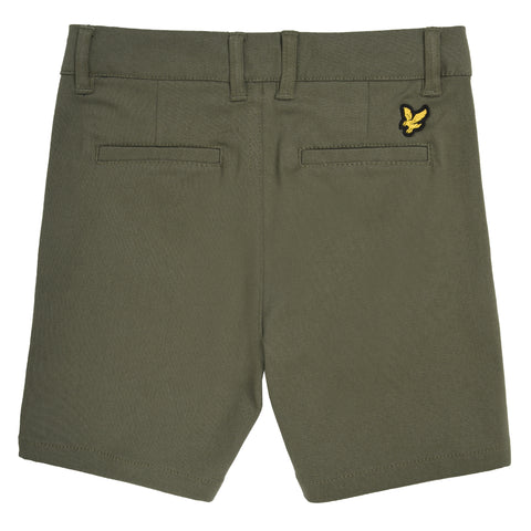 Boy's Lyle & Scott Classic Chino Shorts Four Leave Clover