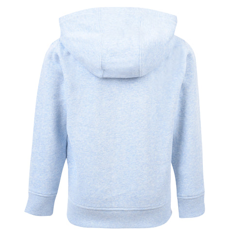 Boy's Lyle & Scott Classic Hoody Powder Blue Marl