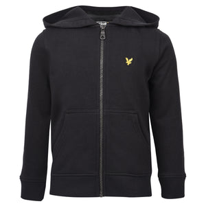 Boy's Lyle & Scott Core Classic Zip Hoodie True Black