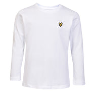 Boy's Lyle & Scott Core Classic Long Sleeve T-Shirt Bright White
