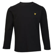 Boy's Lyle & Scott Core Classic Long Sleeve T-Shirt True Black