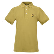 Boy's Lyle & Scott Classic Polo Marl Bay Green