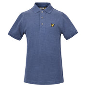 Boy's Lyle & Scott Classic Polo Marl Navy
