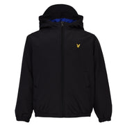 Lyle & Scott - Boys Zip Through Hooded Jacket True Black - WHIZZKID.COM